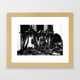 SILVER SERVICE Framed Art Print