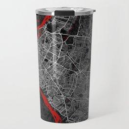 Asunción City Map of Paraguay - Oriental Travel Mug