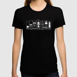 Coffee Whiskey Calendar T-shirt