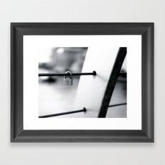 Love Locks 2012 04 Framed Art Print