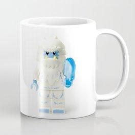 White Yeti Minifig eating an icecream Coffee Mug