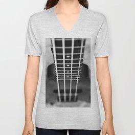 bass guitar Unisex V-Neck