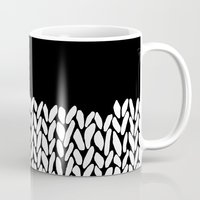 knit Mugs featuring Half Knit by Project M