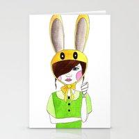 zelda Stationery Cards featuring Zelda by okayleigh