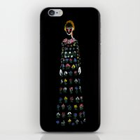 dress iPhone & iPod Skins featuring Dress by Danielle Case