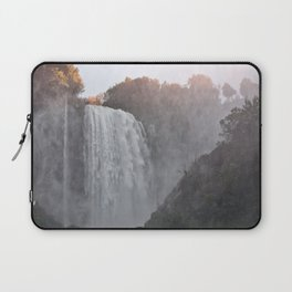 Panoramic view of the Marmore falls, Umbria, Italy Laptop Sleeve