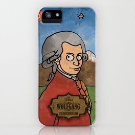 Wolfgang from Earth (Clavicembalo) iPhone Case