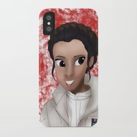 princess leia iPhone & iPod Cases featuring Leia by BellaG studio