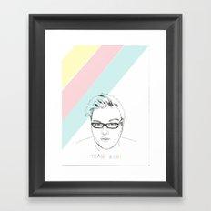 Team Ash 2 Framed Art Print