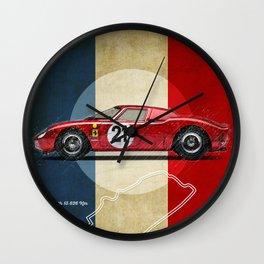 Le Mans Vintage LM Wall Clock