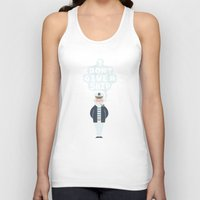 captain silva Tank Tops featuring Indifferent Captain by Teo Zirinis