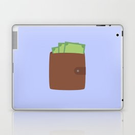 Wallet with money Laptop & iPad Skin