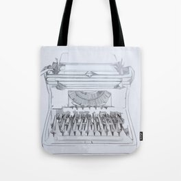 Typed Out Tote Bag