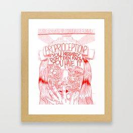 Proprioception 1 Framed Art Print