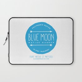 Blue Moon Native Garden Laptop Sleeve