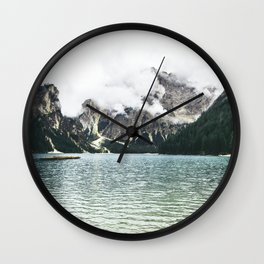 By the Sea to the Mountains Wall Clock