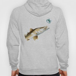 Snook Chasing a Blue Crab Hoody