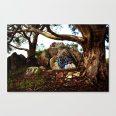 Hippie Tree Canvas Print