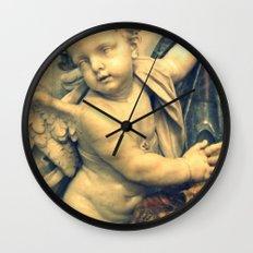 The Hallelujah Cherub. Wall Clock