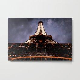 I Fell For You (Paris) Metal Print