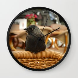 Politely Watching You. Wall Clock