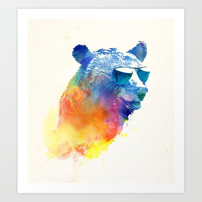 Discover the motif SUNNY BEAR by Robert Farkas as a print at TOPPOSTER