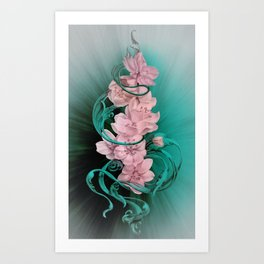 Cherry Blosom Art Print