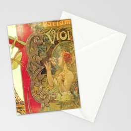 The Crickets of Paris Stationery Cards
