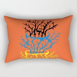 matisse coral Rectangular Pillow
