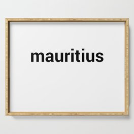 mauritius Serving Tray