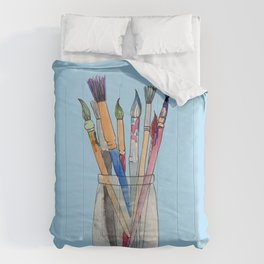 Paint Brushes Comforters
