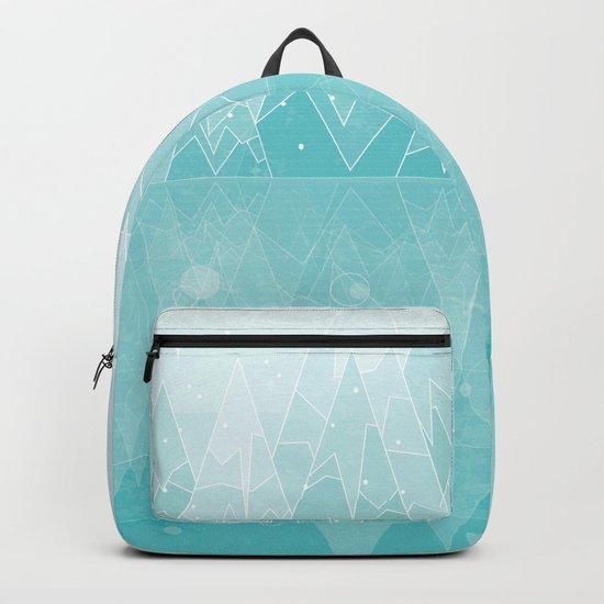 Geometric Lake Mountain IV - Winter Backpack