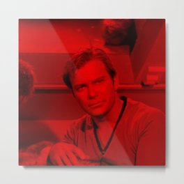 William Shatner - Celebrity (Photographic Art) Metal Print
