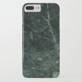 Dark Green Marble Texture Stone iPhone Case