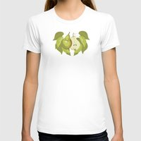 pear T-shirts featuring Pear by Marlene Pixley