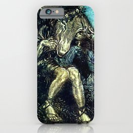 """How Now Spirit?"" Fairy Art by Arthur Rackham iPhone Case"