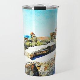 Agropoli: landscape from the castle Travel Mug