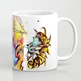 At these levels there is no danger of spinal cord injury Coffee Mug