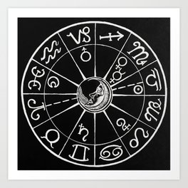 Planetary Rejoicing - Nocturnal Diagram Art Print