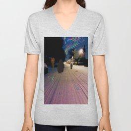 Snow Road Unisex V-Neck
