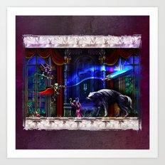 Castlevania Verboten Art Print