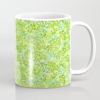 plants Mugs featuring Plants by yaskii