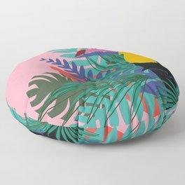 Toucan pink Floor Pillow