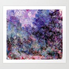 Monet : The House Seen From the Rose Garden Kunstdrucke