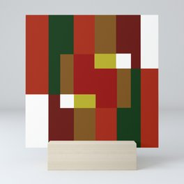 Forest Abstract Mini Art Print