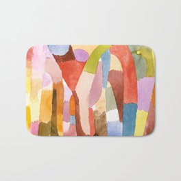 Movement of Vaulted Chambers by Paul Klee, 1915 Bath Mat