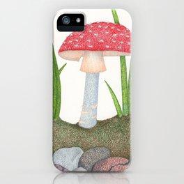 Amanita Muscaria iPhone Case