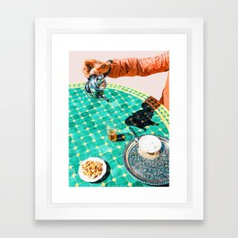 Chai #painting #digitalart Framed Art Print