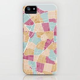 Habana map iPhone Case