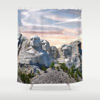 infamous Shower Curtains featuring Presidential by Judith Lee Folde Photography & Art